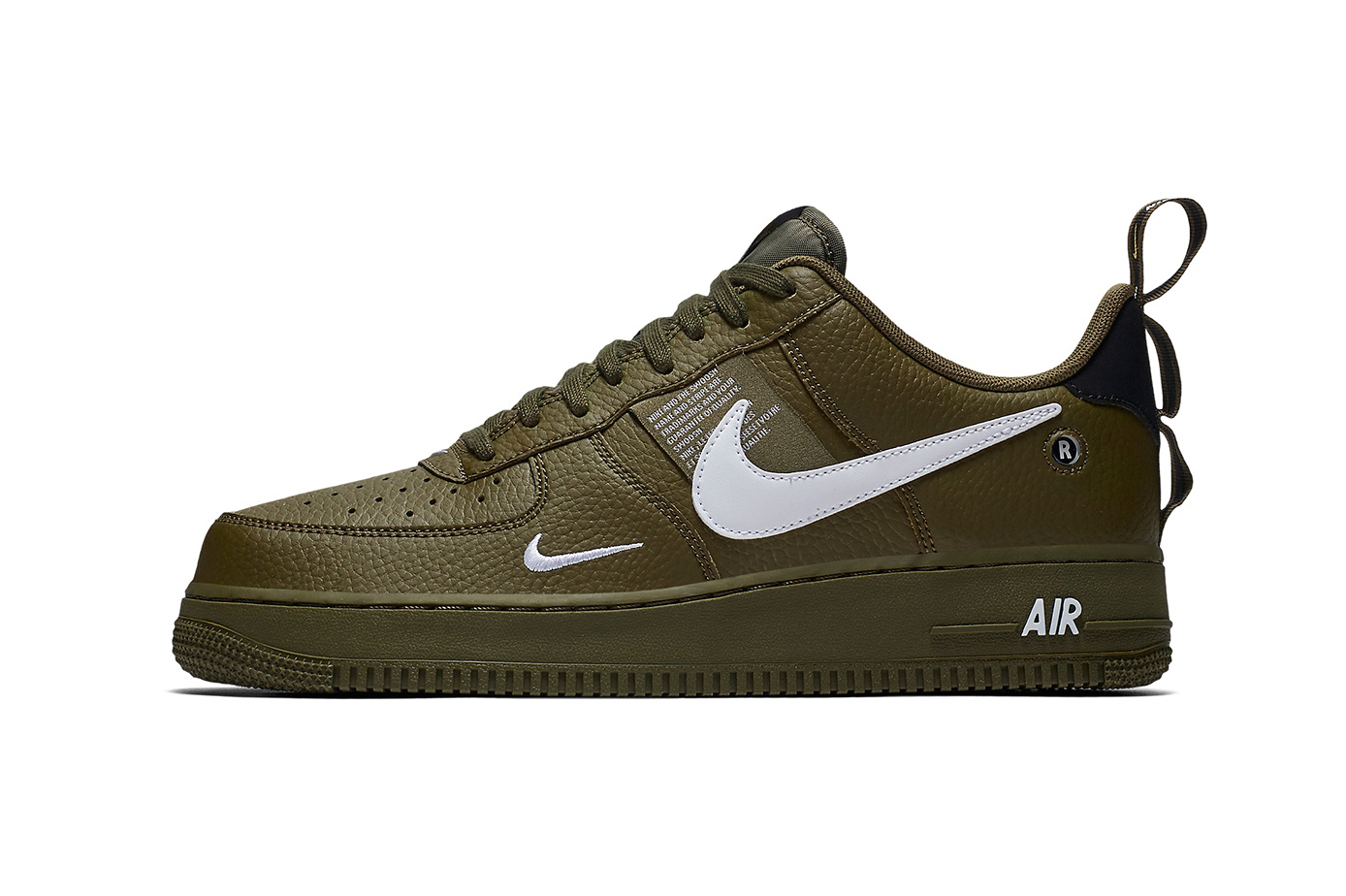 "competitive price 208c8 b8d66 Nike Air Force 1 Low Utility ""Olive Canvas"""