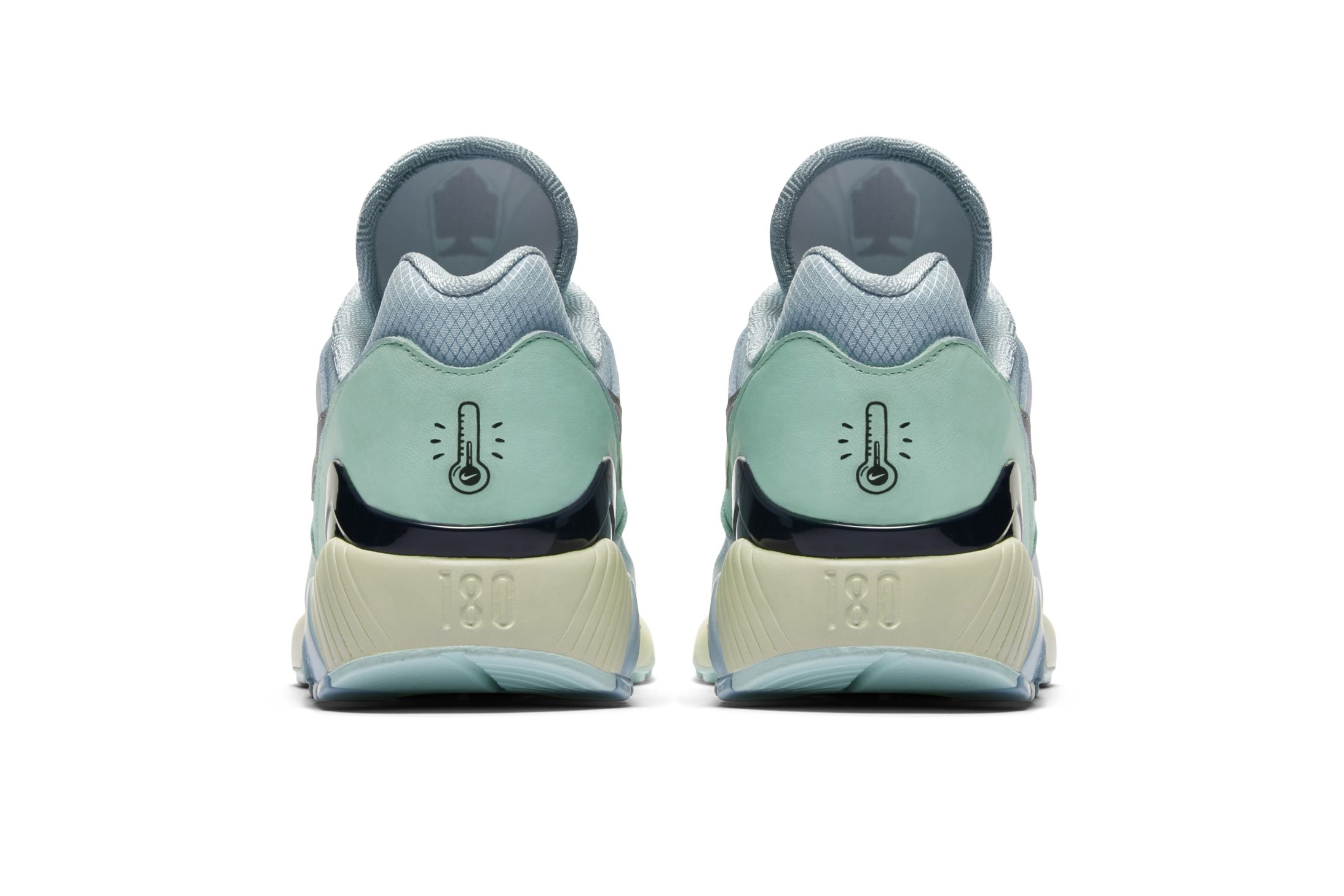 Nike Air Max 180 Ice Ocean Bliss Blue Size UK 12 EUR 47.5 US 13 Av3734 400