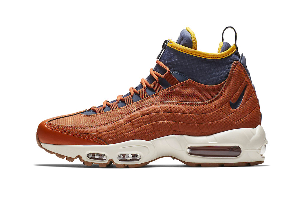"Nike Air Max 95 Sneakerboot ""Dark Russet"""