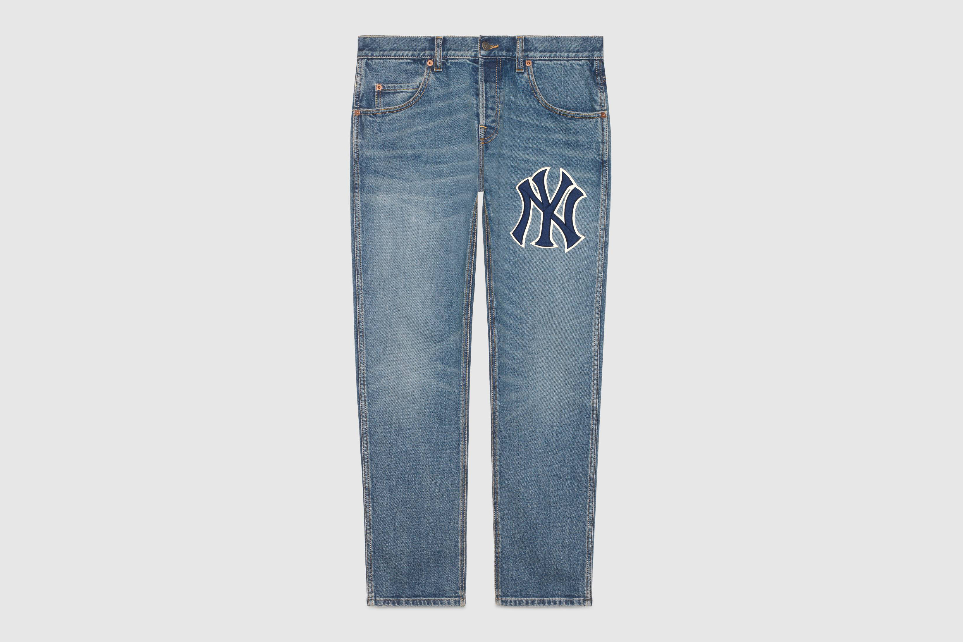 6386a188a Following up their first team up, Gucci and unexpected collaborator New  York Yankees came together on a new capsule for Fall/Winter 2018.