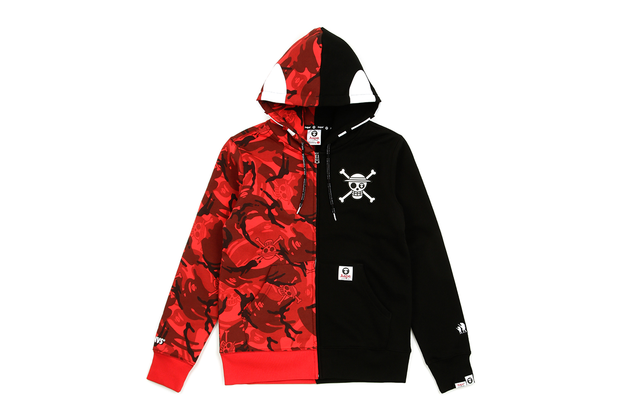 One Piece x AAPE by A BATHING APE FW18 Collab