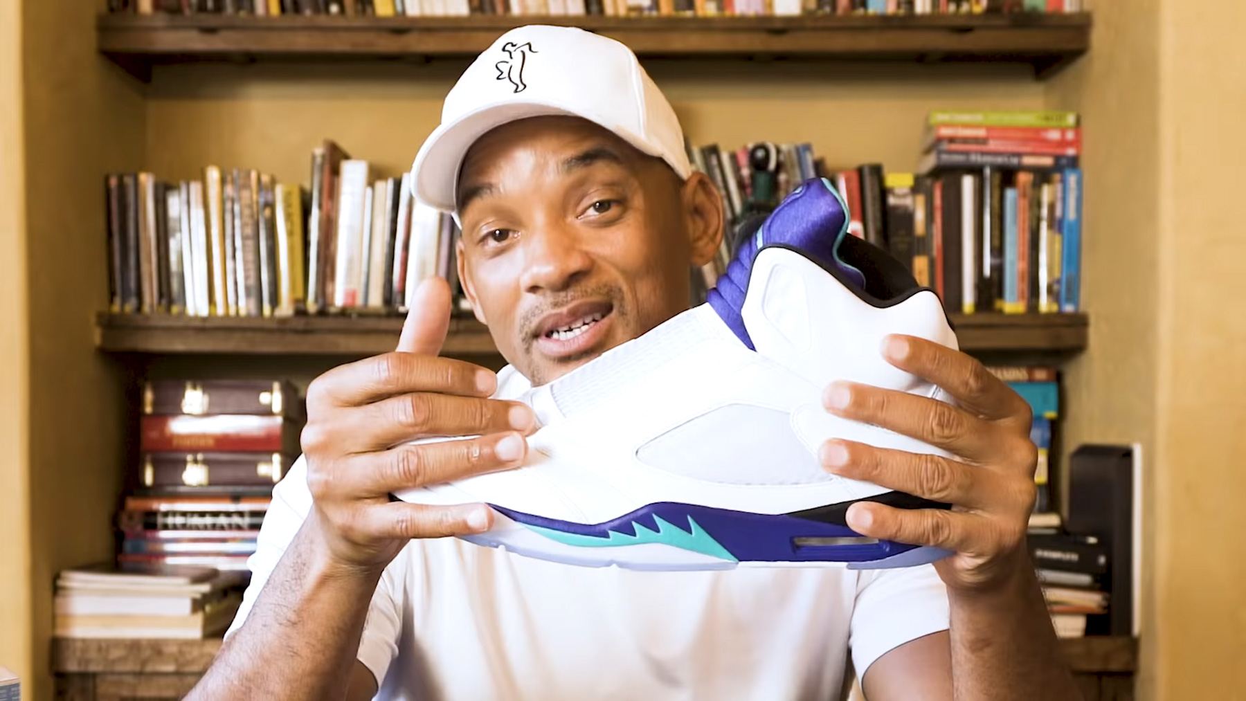 wholesale dealer 8c883 6f46d Will Smith Unboxes His Laceless Air Jordan 5 | HYPEBEAST