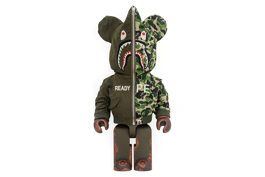 READYMADE x BAPE x Medicom Toy BE@RBRICK