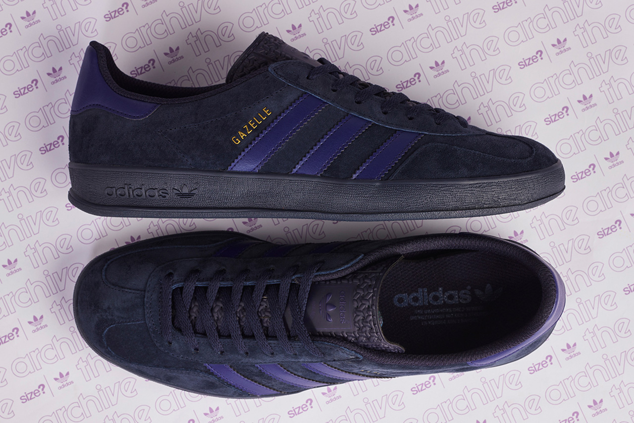 adidas Originals Archive Gazelle Indoor Size? Exclusive Shoes Sneakers Kicks Trainers Footwear
