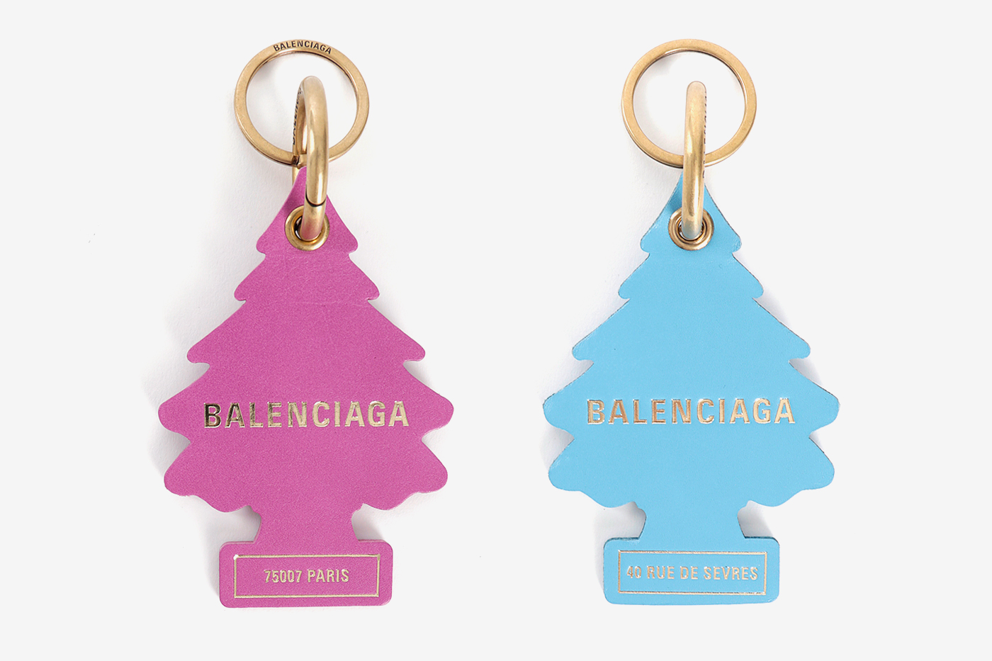 Balenciaga Fall Winter 2018 Pine Tree Keychains release info accessories