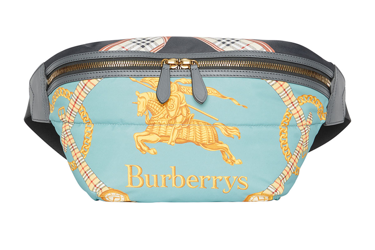 Burberry fall winter 2018 Archive Scarf Print Belt Bag accessories release info