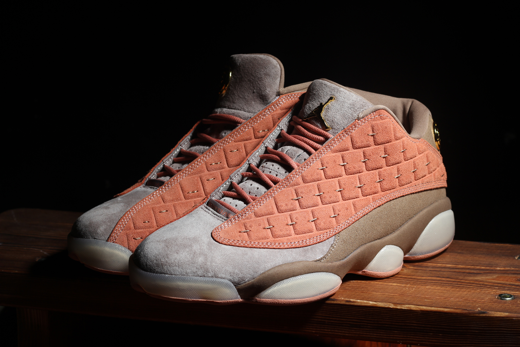 huge selection of 918f8 1a9dd CLOT Air Jordan 13 Low Release Info Date White Brown Grey Gold Chinese  Terracotta Warriors Edison