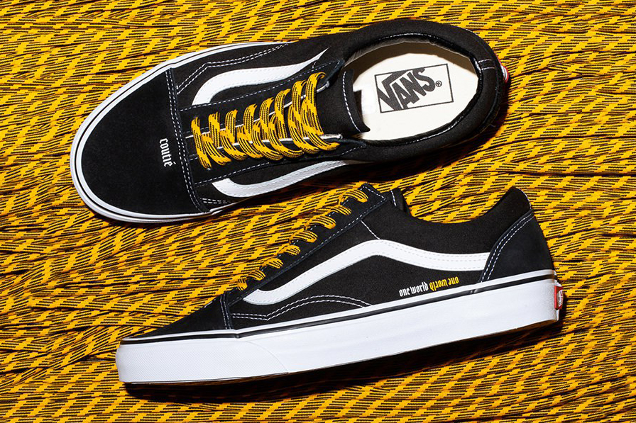 Coutié Vans One World #2 Collection release info collaboratins black white Old Skool Sk8-Hi