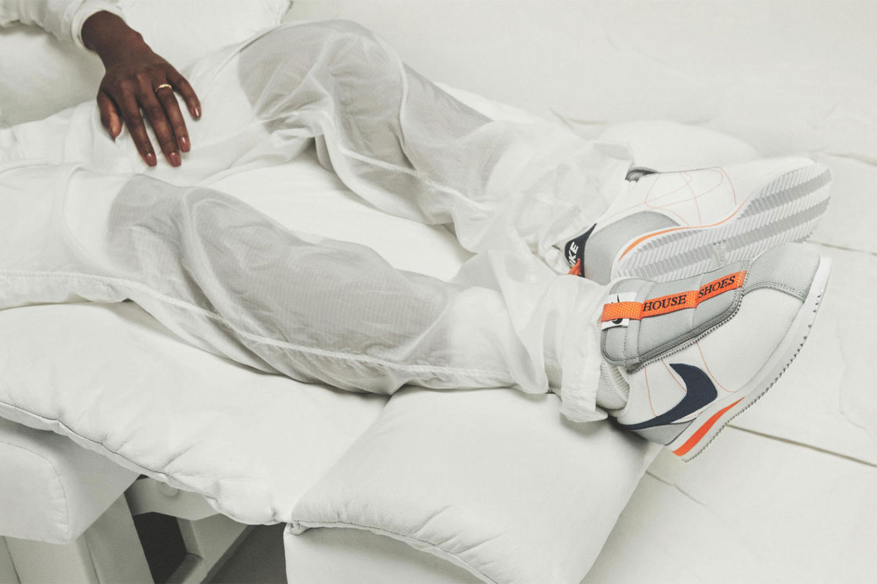 kendrick lamar nike cortez kenny iv house shoe 2018 october sportswear footwear lookbook