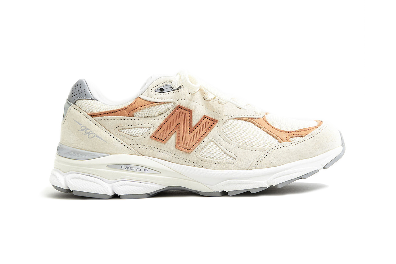 "Todd Snyder x New Balance 990 ""Pale Ale"" Release date info price purchase sneaker collaboration colorway white cream footwear streetwear"