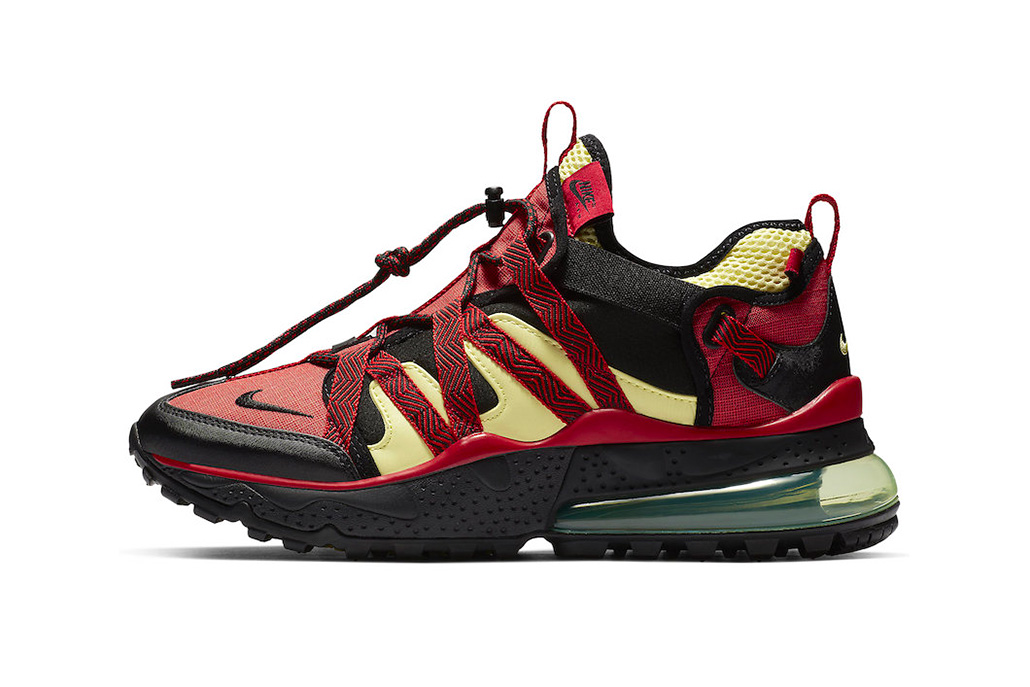 "Nike Air Max 270 Bowfin ""University Red/Light Citron"" release date sneaker colorway price info purchase"