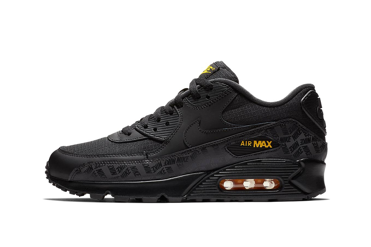 quality design 3fadd 94df3 coupon for nike air max 90 black amarillo 26f04 ba416