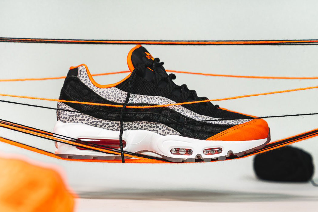 2c3e3bb0a27 nike air max 95 Keep Rippin Stop Slippin 2018 footwear nike sportswear  black granite safety orange