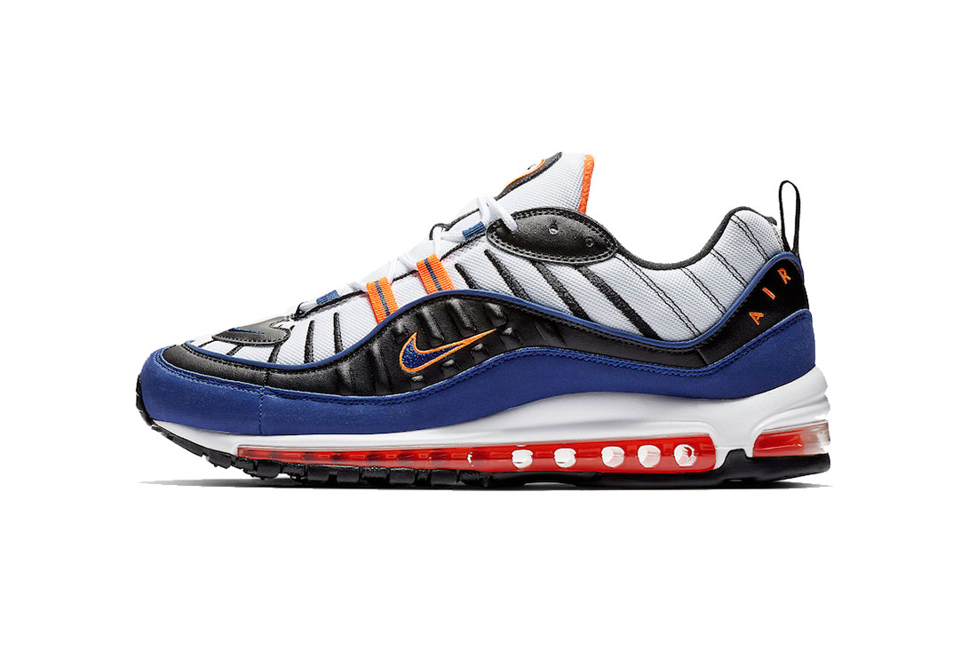 Nike Air Max 98 Quot Deep Royal Blue Total Orange Quot Hypebeast