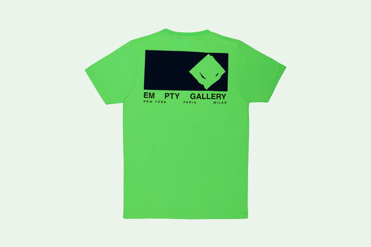 Off-White™ Empty Gallery Staff Garment T-Shirts