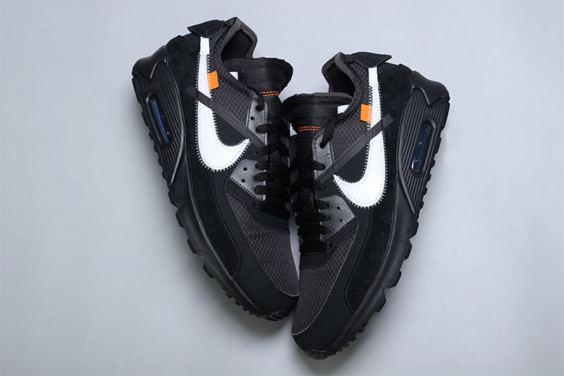 competitive price ea145 2e703 Price. 160 USD. off white nike air max 90 close look black black cone white  footwear nike sportswear