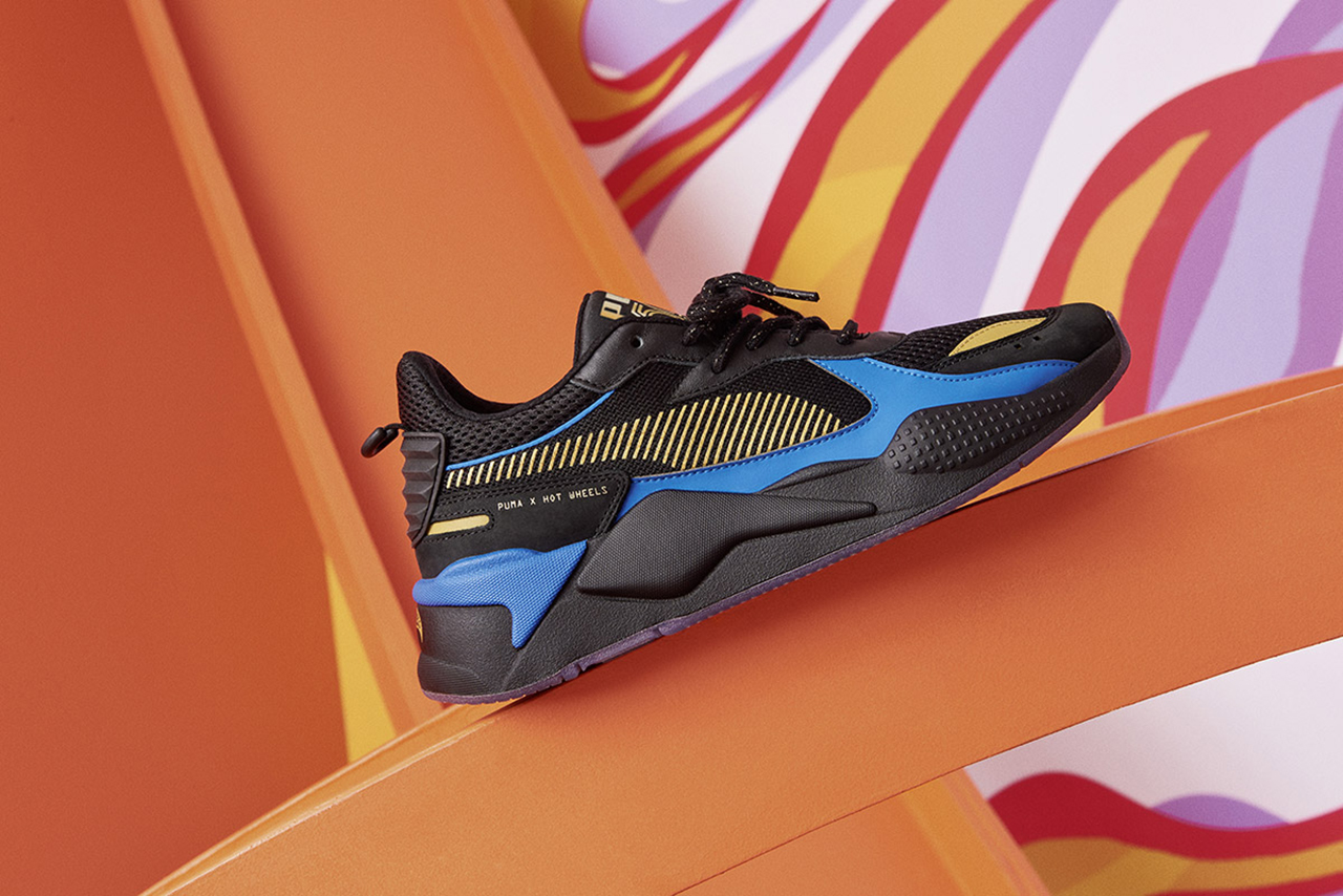 Mattel x PUMA RS-X Hot Wheels Release Date Shoes Trainers Kicks Sneakers Footwear Cop Purchase Buy Closer First Look First Look