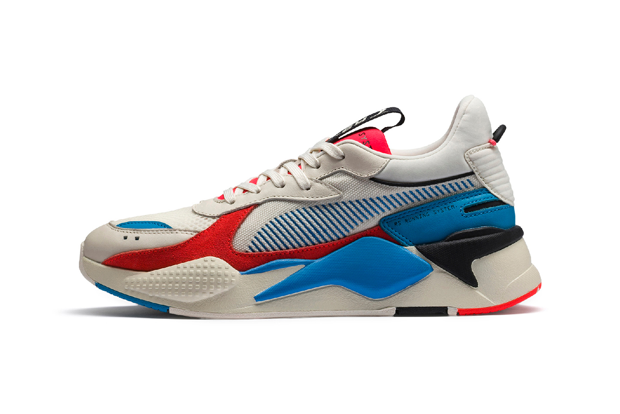 PUMA RS-X Reinvention Silhouette First Look Closer Look Release Date update technology chunky runner hot wheels motorola sneaker trainer footwear shoe