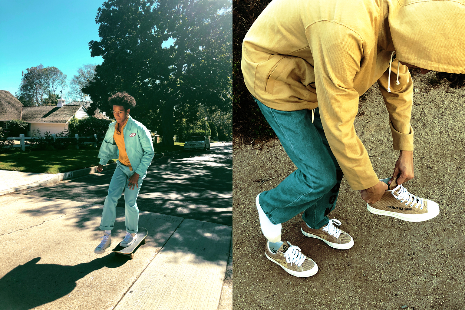 Tyler, The Creator GOLF le FLEUR* Converse Chuck Taylor Release Details Shoes Kicks Trainers Sneakers Footwear Instagram Cop Purchase Buy Available @golfwang