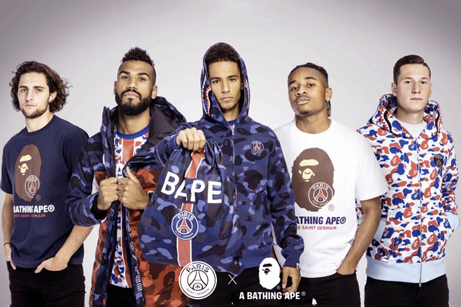 PSG x BAPE Collection