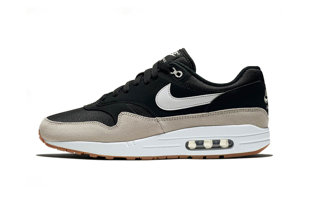 nike air max 1 black light bone white 2018 november footwear nike sportswear