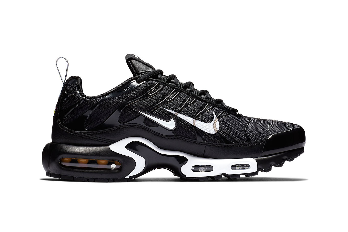 nike air max plus zwart