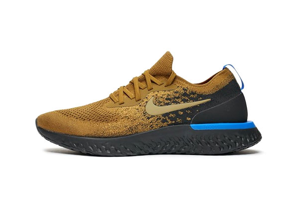 "Nike Epic React Flyknit ""Olive Flak"" release date info price buy now sneaker colorway sns"