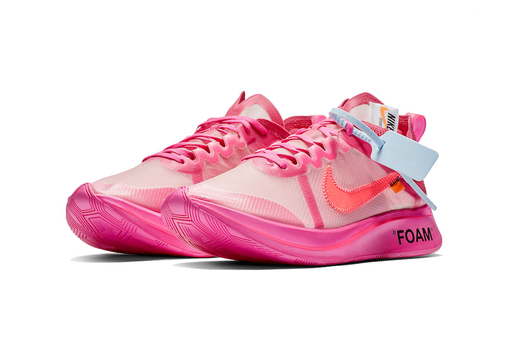 Off-White™ x Nike Zoom Fly Tulip Pink