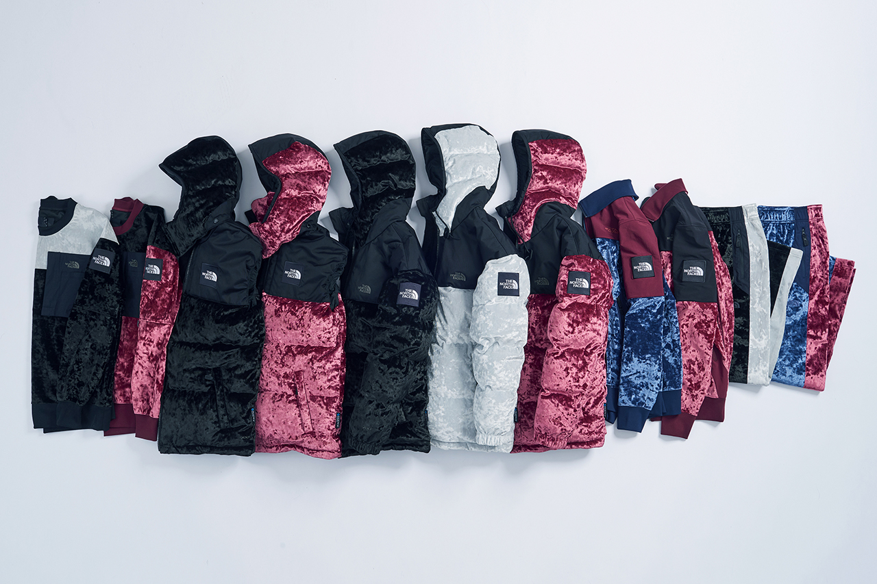 The North Face Black Series Velvet Collection Hypebeast