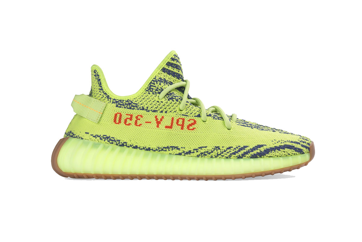 adidas yeezy boost 350 semi frozen yellow 2018 december store list footwear kanye west adidas originals