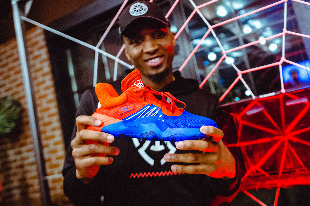 donovan mitchell the don issue 1 footwear utah jazz adidas d o n sneaker signaure shoe contract