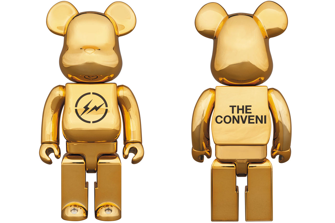 fragment design x THE CONVENI x Medicom Toy BE@RBRICK