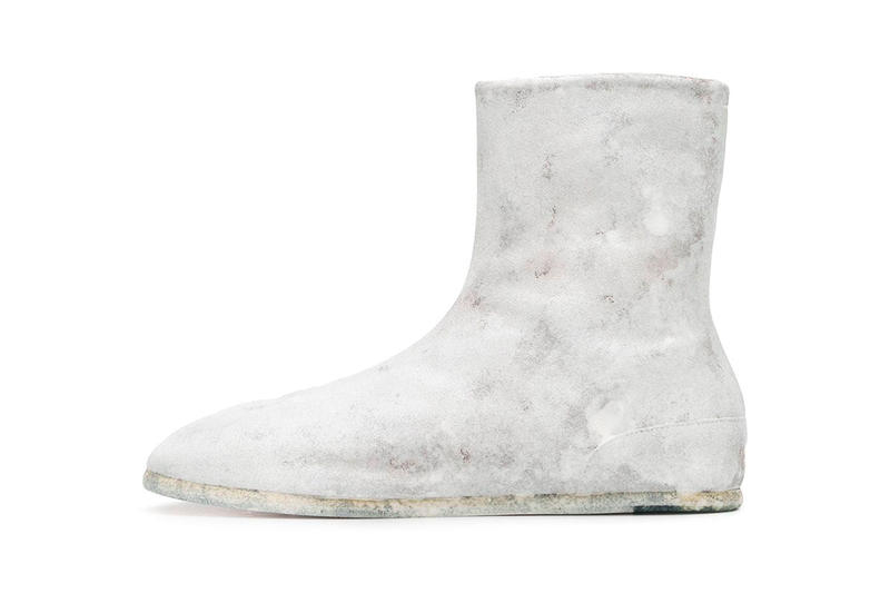 Maison Margiela Painted Side-Zip Tabi Boot