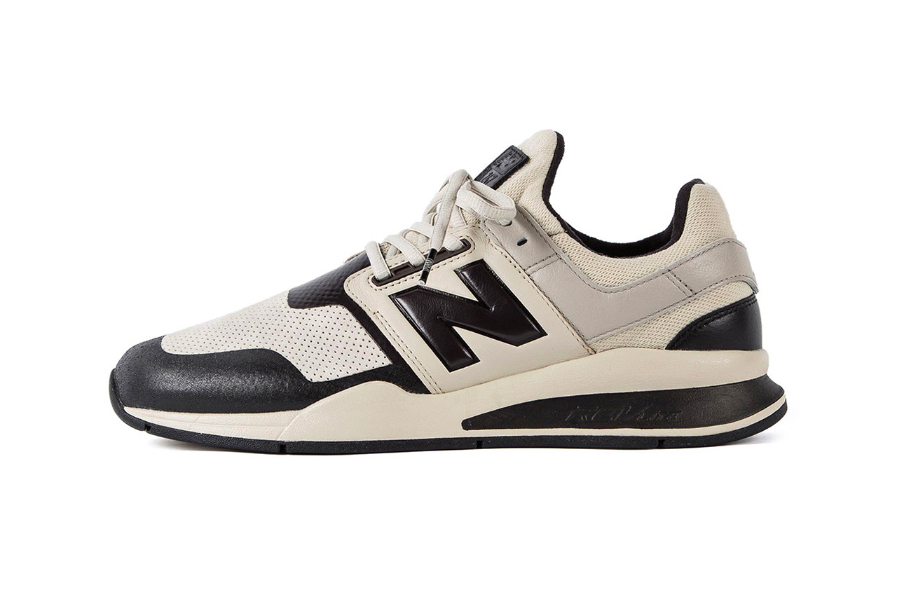 N.HOOLYWOOD x New Balance 247v2 Release Info date price collaboration sneaker colorway black white cream leather purchase buy online