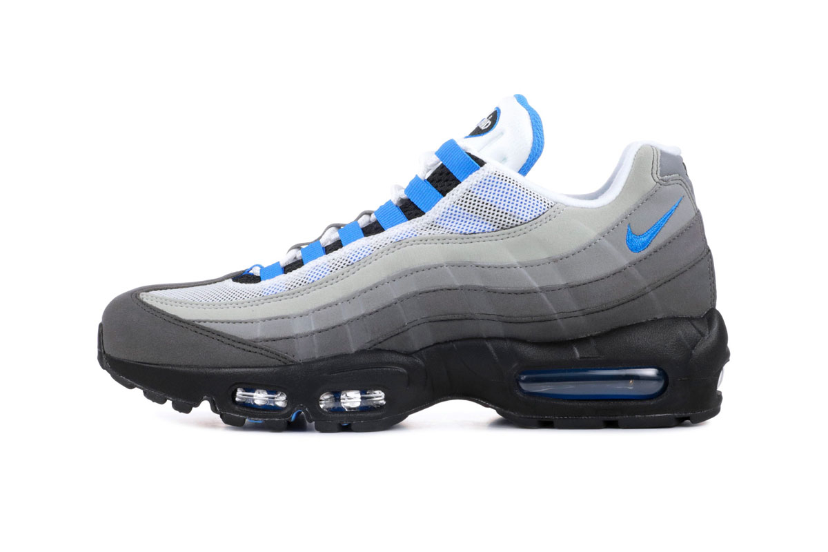 Nike Air Max 95 Crystal Blue Og Re Release Hypebeast Drops