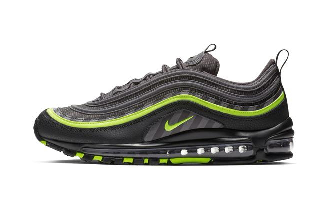 Nike Air Max 97 Thunder Grey/Lime Blast