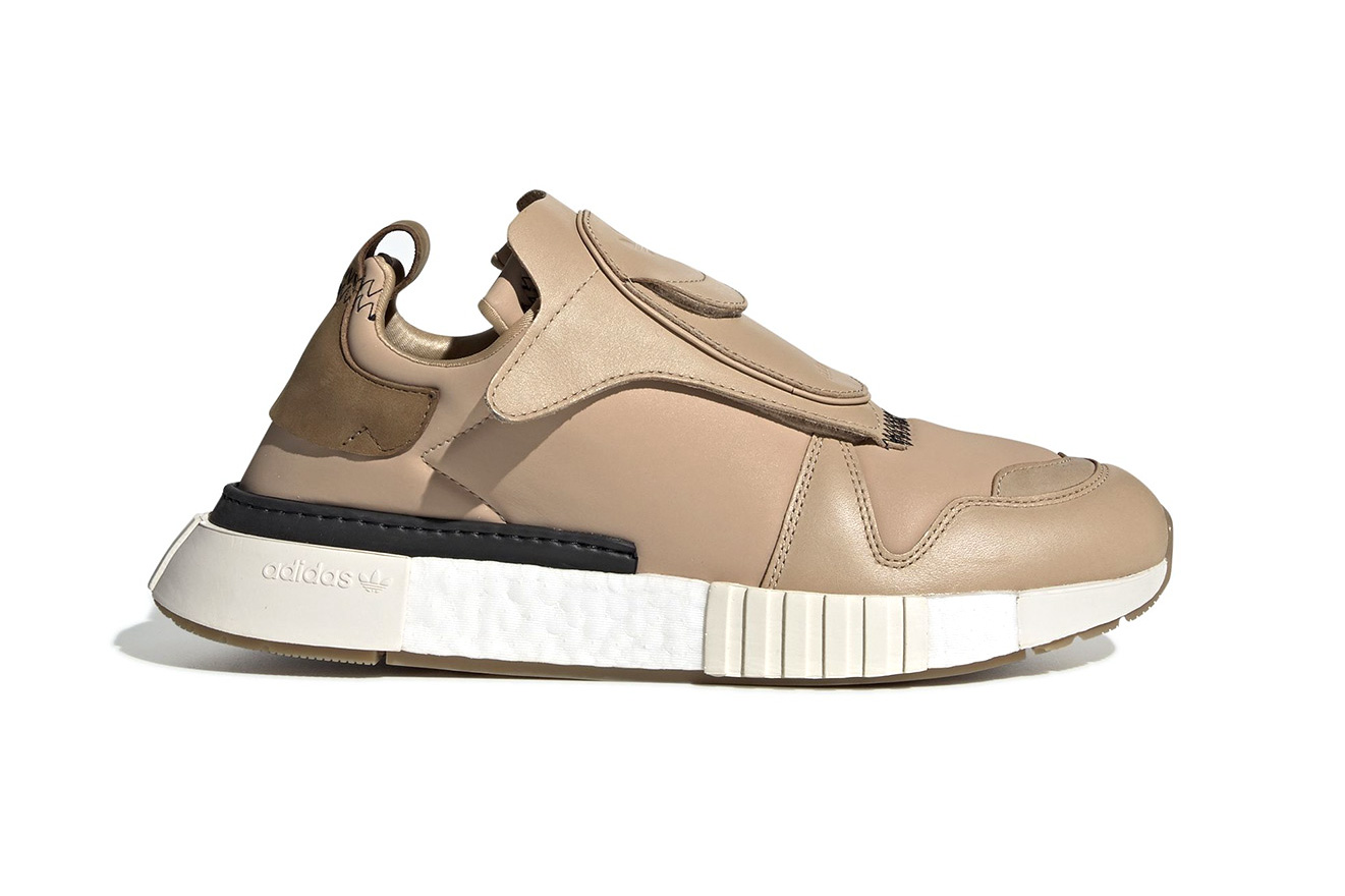 adidas Futurepacer Nude Ash Grey Release three stripes black leather luxe adidas originals