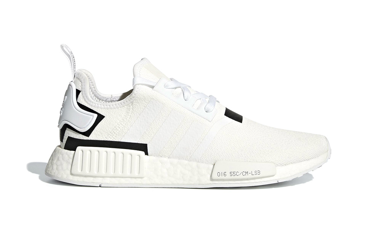 adidas Dresses New NMD R1 With Black and White Colorblocks price images drop release date sneakers footwear