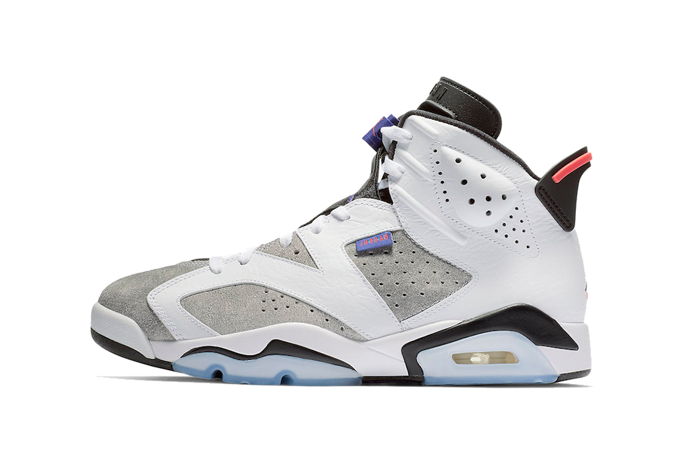 "new style e2df2 c5e4a Air Jordan 6 ""White Dark Concord-Black"""