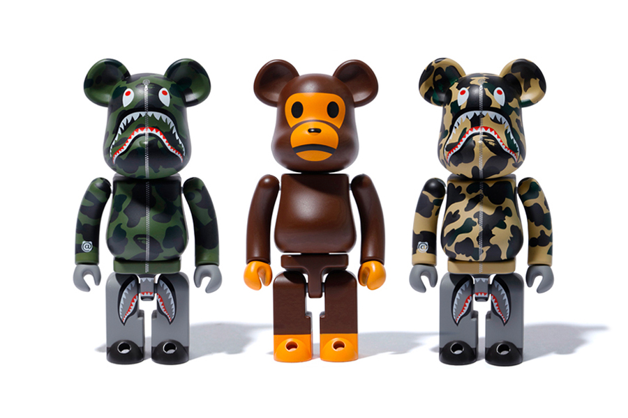 BAPE x Medicom Toy Ready