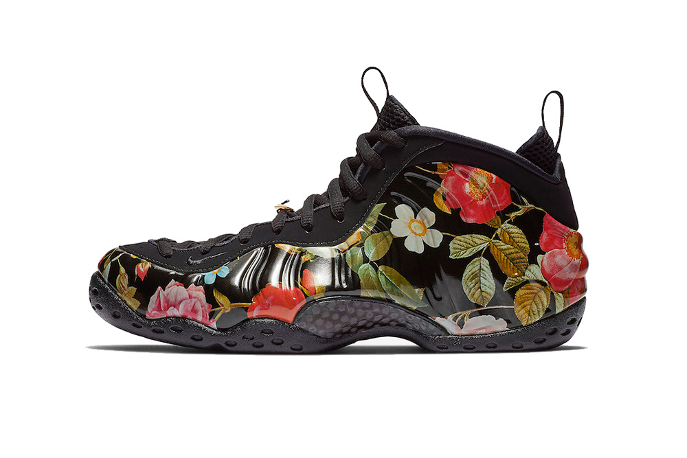Nike Womens Air Foamposite One Floral Shoes ...Pinterest
