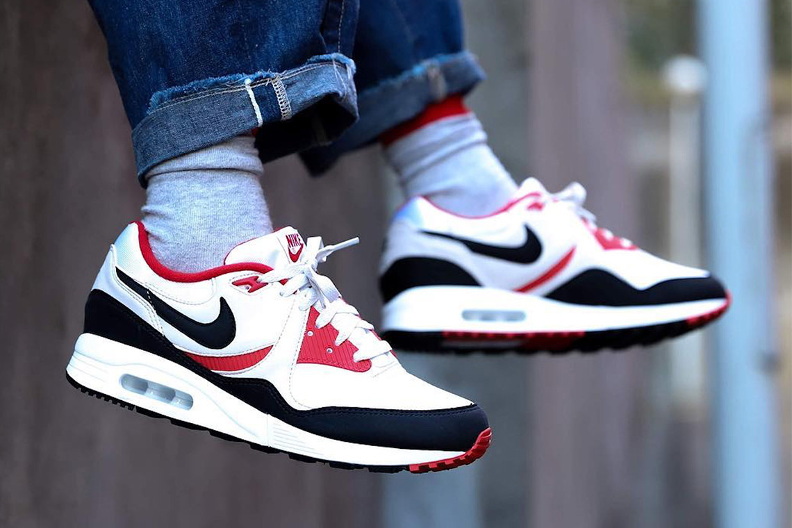Nike Air Max Light release date red navy white sneakers kicks retro vintage