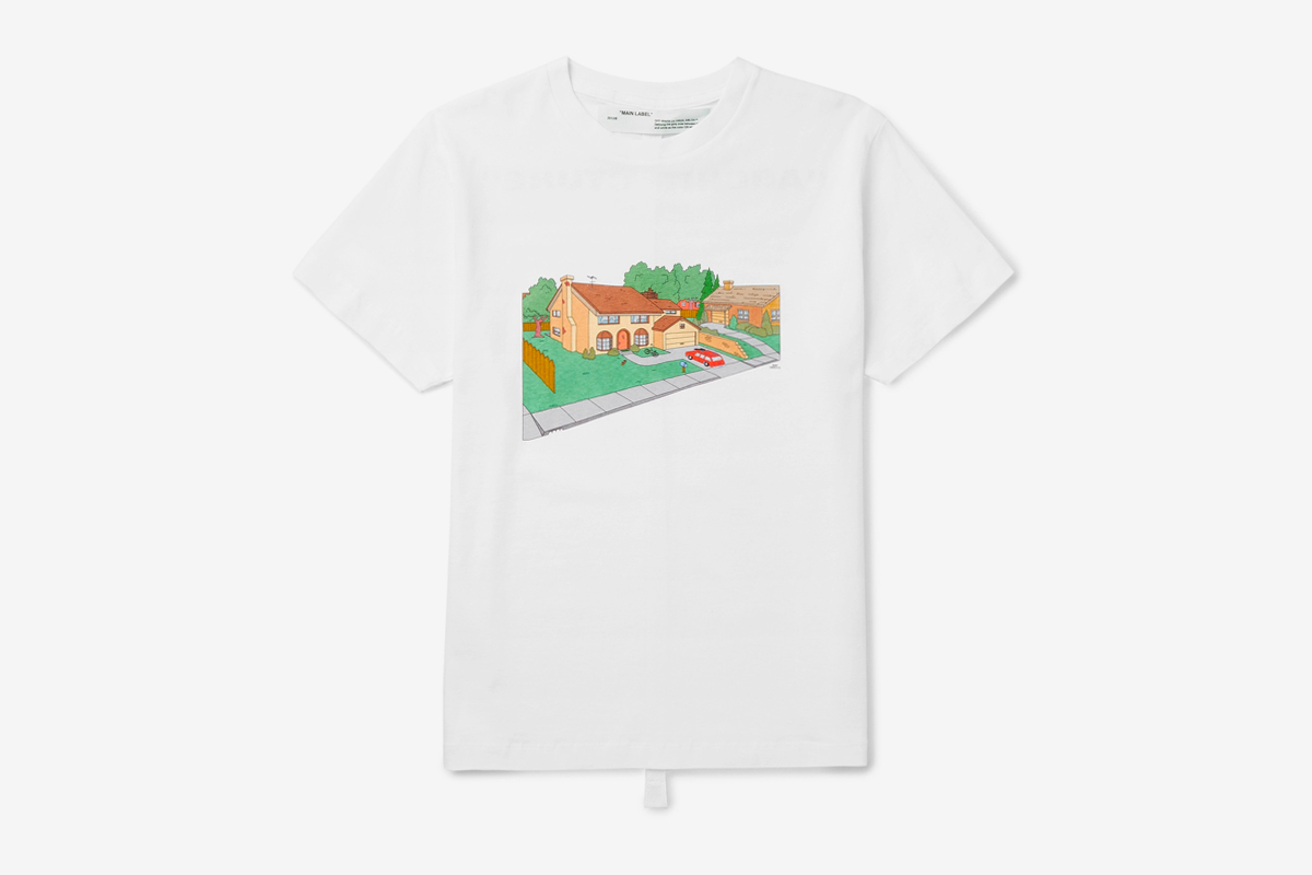 Off-White™ 'The Simpsons' House T-Shirt