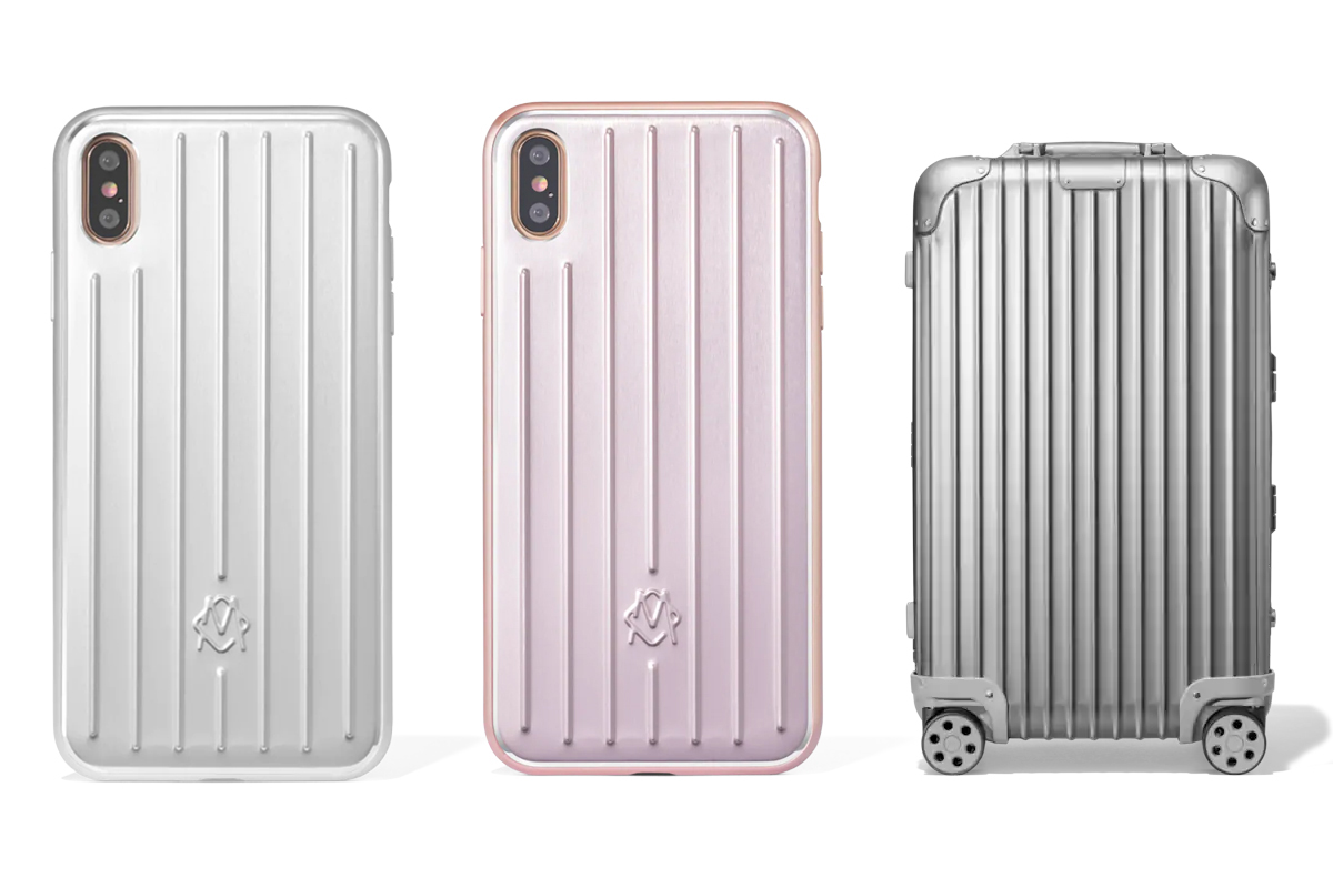 RIMOWA Aluminium Groove Apple iPhone Case