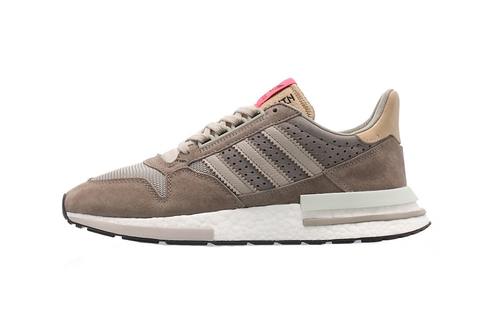 adidas zx 500 rm sand brown light brown white 2019 march footwear