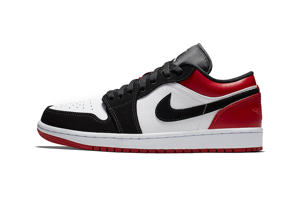 "online store f869f bfbc6 Air Jordan 1 Low ""Black Toe"""