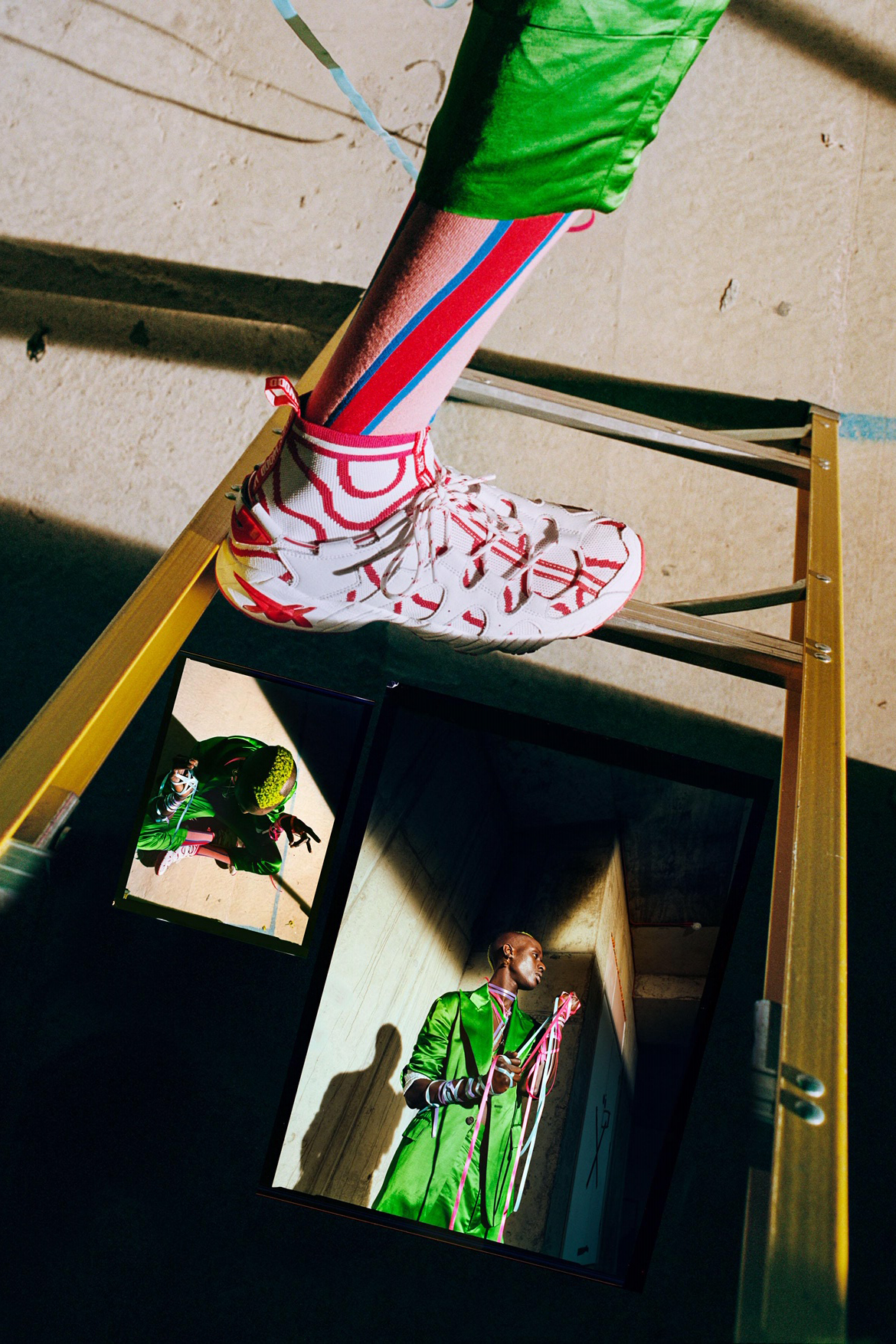 Vivienne Westwood x ASICS Collab Teaser Collaboration Shoes Trainers Kicks Sneakers Footwear Cop Purchase Buy 2019 GEL-MAI