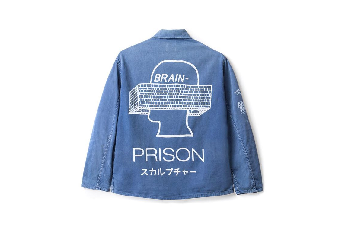 Brain Dead Prison Sculpture Collection Clayarlington Dover Street Market Los Angeles Drop Sweater Sweatpants
