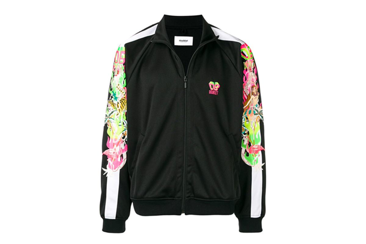 Doublet Black Chaos Embroidery Jacket