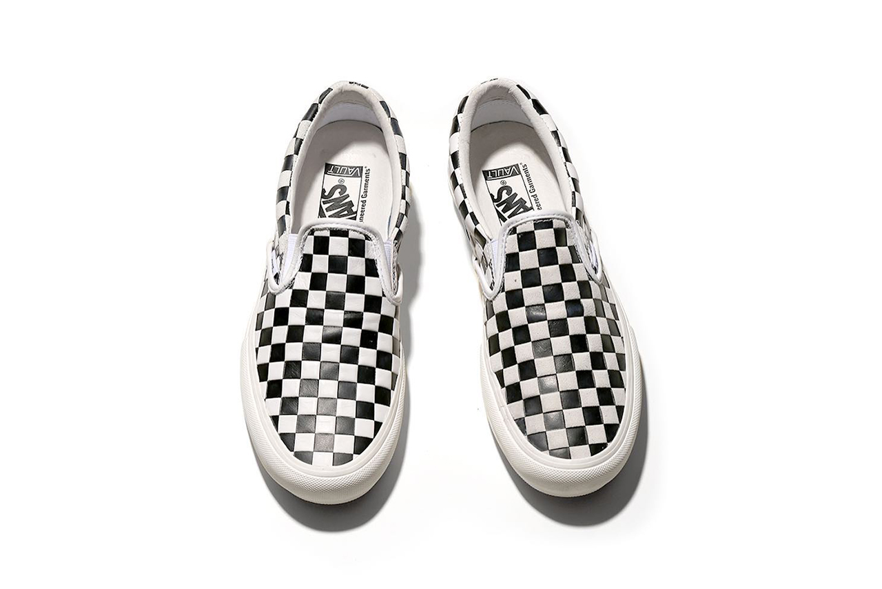 Engineered Garments vans spring summer 2019 slip on sneakers collaboration  drop release date info march 2 4777c00e7
